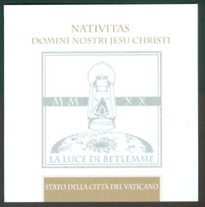 2020 Vatican City: Christmas 2020 MNH booklet