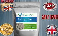 30 L-Arginina HCL 500 mg di ossido nitrico Capsule Perdita Peso Muscoli rilassati dieta PIL