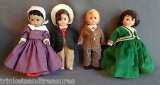 "Lot! 4 Madam Alexander 8"" Dolls Gone With the Wind Mammy Ashley Rhett Scarlett"