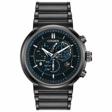 Citizen BZ1005-51E Proximity BlueTooth Smart Watch Eco Drive Men's Alarm Chrono