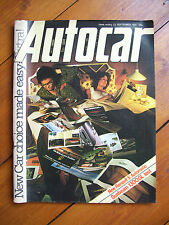 Autocar Magazine, vol.149, no.4272 (23 September 1978)