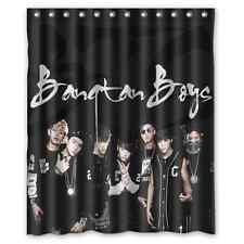 Bangtan Boys Waterproof Bathroom Shower Curtain Polyester Fabric 60x72 With Hook