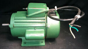 Genuine Vintage Grizzly Wood Shaper G1024 Reversible Motor. 3/4HP 110/220V 1Ph