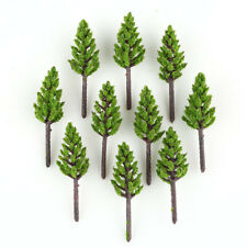 100pcs Pine Trees Model Deep Green For N Z Scale Building Street Layout 38mm