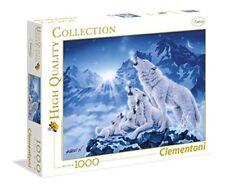 Clementoni 39280 Puzzle 1000 Famiglia di Lupi HQC