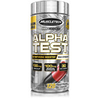 Muscletech Alphatest / Muscle Bulder / Testosterone Booster alpha test super hd