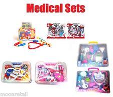 Children's Toy Medical Set Doctor Nurse Hospital Dress Up Role Play Carry Case