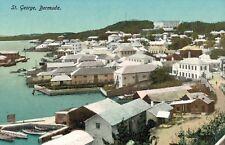 St.Georges,Bermuda,Bird's Eye View,c.1909