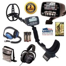 Garrett At Pro Metal Detector Headphone Combo Package With Land And Water Phones