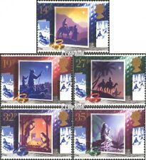 Royaume-Uni 1180-1184 (édition complète) neuf 1988 Noël