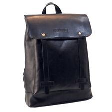 Men Women Leather Rucksack Backpack Casual Bag Travel Pocket Shoulder Midi Bags