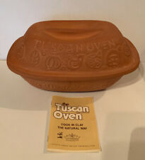 Kingcraft The Tuscan Oven Terra Cotta Clay - Vintage