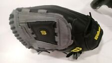 "Wilson A360 Baseball Glove Black/Grey 12""-LHT"
