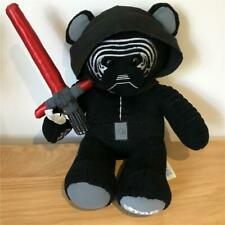 BUILD A BEAR FACTORY DISNEY STAR WARS RARE KYLO REN WITH LIGHT SABRE & SOUND