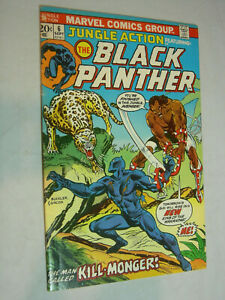 Jungle Action #6 G/VG 1st solo Black Panther 1st appearance of Killmonger