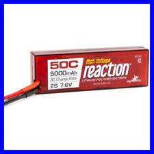 Dynamite Reaction HV 7.6v 5000mah 50C 2S Lipo Li-po Hardcase EC3 DYNB3852EC