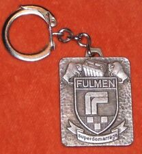 Porte-clés key ring ACCUMULATEUR SOCIETE FULMEN SUPERDEMARRAGE Bisons 92 CLICHY