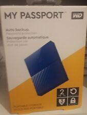 WD MY PASSPORT. 2TB.AZUL NUEVO PRECINTADO.