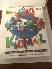 Vintage KidMail Connection (Pc-Cd, 1994) for Windows - New Sealed Jewel Case