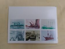 SHIPS of CANADA Heritage Stamp Collection 96 Pages Usable Stamps Facts Photos