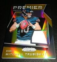 Mitchell Trubisky Rookie Rare Premier (Gold) /25 Jersey, Chicago Bears, Prizm RC