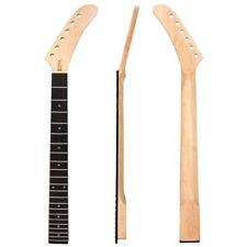 Banana Guitar Neck Maple 22 Fret ST Guitar Parts Replacement Flat Heel