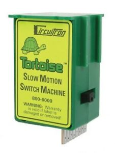 All Scale Tortoise Slow Motion Switch Machine - Circuitron #800-6000