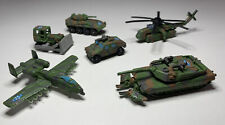 Micro Machines, Military Collection, Galoob, Helicopters, Tanks, Planes... A-6