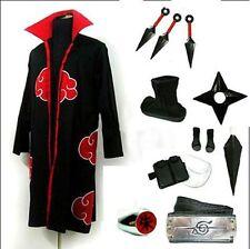 Naruto Itachi Uchiha Cosplay Costume Whole set uniform