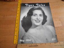 LSU Tiger Tales 1954 campus magazine Cobra Lounge  V1 #3 Girls