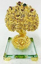 Golden Money Tree Plant Feng Shui Vastu Positive Energy Home / Office 5.8""