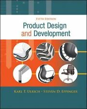 Product Design and Development by Karl Ulrich and Steven Eppinger (2011,...