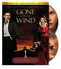 Gone With the Wind 70th Anniversary Edition (DVD, 2009,2-Disc)Box Set