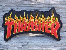 ECUSSON PATCH THERMOCOLLANT aufnaher toppa THRASHER skate bmx métal hip hop rock