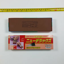 JAPAN made Sharpener  Stone LOBSTER DELUXE WATER STONE IG-420 NANIWA-#1200