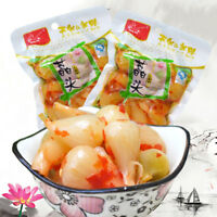 Spicy Pickle Food Snack Allium Chinense JiaoTou茭头泡菜酸脆爽口下饭菜 成星荞头云南水晶泡藠头100g Haihk