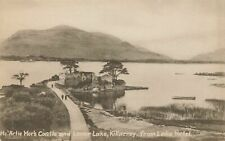 KILLARNEY - Mc'Artie Mor Castle and Lower Lake from Lake Hotel - Kerry - Ireland