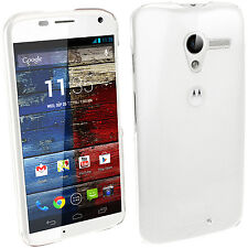 Clear Transparent Hard Case for Motorola Moto X 1st Gen 2013 XT1052 Shell Cover