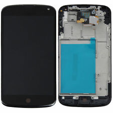 For LG Google Nexus 4 E960 LCD Display Digitizer Touch Screen + Frame Assembly
