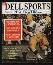 1962 DELL SPORTS ~ FEATURING PRO FOOTBALL PAUL HORNUNG OF THE GREEN BAY PACKERS