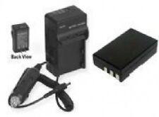 EN-EL9 En-EL9A Battery + Charger for Nikon DSLR D40 D40X D60 D3000 D5000 Camera