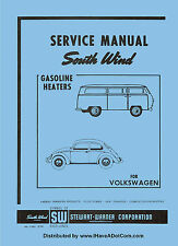 VW - SOUTHWIND GAS HEATER SERVICE MANUAL SOUTH WIND