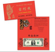 $1 lucky money Year of the Tiger 2010
