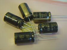 2 pcs 100uF 50V ELNA RFS SILMIC II AUDIO Capacitor +85°C RM5 bl NEU Kondensator