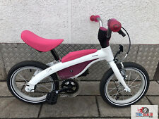 Original BMW Kinderfahrrad - Laufrad - Kidsbike pink / weiß