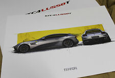 FERRARI GTC4Lusso T Lithograph 95993455 - Design Sketch brochure GTC4 Lusso