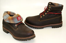 Timberland Af Roll Top Pendleton Boots Lace Up Men Winter Boots