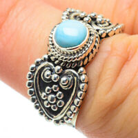 Larimar 925 Sterling Silver Ring Size 6 Ana Co Jewelry R28995F