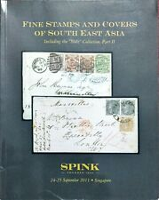 Auction Catalog STAMPS COVERS of SOUTH EAST ASIA STOLZ Collection Perak Sarawak