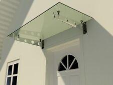 Glasvordach Schwert Winkel Edelstahl VSG Haustür Überdachung Türvordach 1,3 cm